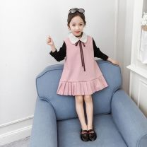Dress Khaki, pink female Other / other 110cm,120cm,130cm,140cm,150cm,160cm Other 100% spring and autumn princess Long sleeves lattice cotton Pleats YCJPTZ210000 10, 11, 12, 13, 14, 2, 3, 4, 5, 6, 7, 8, 9 Chinese Mainland Anhui Province