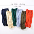 trousers xiailebaby male 90cm,100cm,110cm,120cm,130cm,140cm Off white, Navy, orange, army green, green, light blue summer trousers leisure time No model Knickerbockers Leather belt middle-waisted cotton Don't open the crotch Cotton 50% viscose (viscose) 50% kz282 Class B Chinese Mainland Suzhou