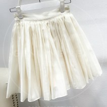 skirt Fall 2018 Short skirt commute Natural waist Pleated skirt 31% (inclusive) - 50% (inclusive) other 25-29 years old other Korean version S,M,L Off white spot, black spot