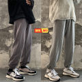Casual pants Zijun Youth fashion Black, light gray, dark gray, > Click to view size < (select color in front) M,L,XL,2XL routine trousers Other leisure easy Micro bomb summer youth tide 2020 middle-waisted Little feet Haren pants Pocket decoration No iron treatment Solid color Terry cloth cotton