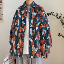 shirt Youth fashion Zijun M,L,XL Blue, yellow, > Click to view size < (select color in front) routine Pointed collar (regular) Long sleeves easy Other leisure spring teenagers like a breath of fresh air 2021