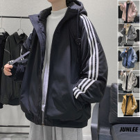 cotton-padded clothes Black, gray, off white, pink, blue, yellow, > Click to view size < (select color in front) Zijun M,L,XL,2XL Youth fashion routine routine easy Other leisure Hood teenagers zipper tide Solid color Side seam pocket polyester fiber
