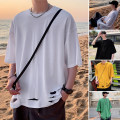 T-shirt Youth fashion White, green, yellow, black, > Click to view size < (select color in front) routine M,L,XL,2XL Zijun Short sleeve Crew neck easy Other leisure summer teenagers routine tide 2020 No iron treatment