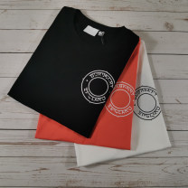 T-shirt other thin S,M,L,XL,2XL Tagkita / she and others Short sleeve Crew neck Self cultivation daily summer youth routine tide Solid color cotton fold Non brand