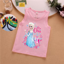 Vest sling Sleeveless summer Others female No model Cartoon Cartoon animation Crew neck nothing Pure cotton (95% and above) Cotton 100% Class A 18 months, 2 years old, 3 years old, 4 years old, 5 years old, 6 years old, 7 years old, 8 years old, 9 years old, 10 years old Chinese Mainland