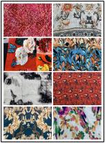 Fabric / fabric / handmade DIY fabric silk