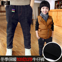 trousers Xiaoyi Chaotong male 100cm,110cm,120cm,130cm,140cm,150cm,160cm Black Plush jeans pants 016, camouflage Plush casual pants 097, black Plush casual pants 096 spring and autumn trousers There are models in the real shooting 2, 3, 4, 5, 6, 7, 8, 9, 10, 11, 12, 13, 14 years old