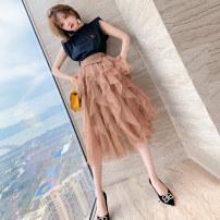Fashion suit Spring 2021 S,M,L,XL,2XL,3XL Black + brown miuco T2726S1246