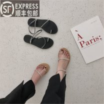 Low top shoes 35,36,37,38,39 Other / other 280-a black, 280-a apricot other PU Flat heel Low heel (1-3cm) Shallow mouth PU Summer 2021 Single shoes
