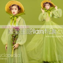 National costume / stage costume Summer of 2018 Single dress, hat Average size 18-25 years old