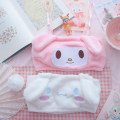 Bra Set  Other / other other Detachable shoulder strap middle-waisted Sweet S,M,L strapless  Upper support Girls (18-25 years old) Sponge mat Cartoon animation winter cotton