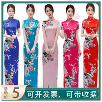 National costume / stage costume Autumn 2014 Red (rent 1-3 days), rose red (rent 1-3 days), white (rent 1-3 days), lake blue (rent 1-3 days), treasure blue (rent 1-3 days), black (rent 1-3 days), blue and white porcelain (rent 1-3 days), renewal