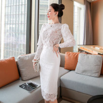 Fashion suit Spring 2021 S,M,L,XL white 25-35 years old