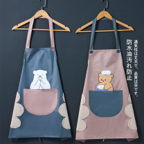 apron Biscuit rabbit [waterproof and antifouling, with towel] polar bear [waterproof and antifouling, with towel] cake rabbit [waterproof and antifouling, with towel] cooking bear [waterproof and antifouling, with towel] Black English [waterproof and antifouling, with towel] Sleeveless apron SSWQ