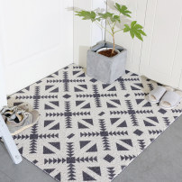 Mat Plastic Machine weaving Geometric triangle, geometric tile, geometric right angle Hand washable vacuum cleaner Finished carpet (yuan / piece) household lobby Northern Europe Geometric pattern Zhencai real color CY02