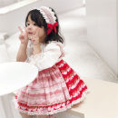 Dress Strawberry skirt (less than 1 size) does not include hairband in stock, strawberry skirt (less than 1 size) + hairband in stock female Other / other 90cm,100cm,110cm,120cm,130cm Other 100% spring and autumn 12 months, 9 months, 18 months, 2 years old, 3 years old, 4 years old, 5 years old