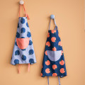 apron Navy, grey, light pink Sleeveless apron antifouling Simplicity other Personal washing / cleaning / care Xi Lan apron Four months public like a breath of fresh air