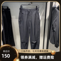 Casual pants Jiang Taiping and niaoxiang Youth fashion black S,M,L,XL,2XL routine trousers Other leisure easy Micro bomb B1GBB1417 summer teenagers tide 2020 middle-waisted Little feet Alphanumeric