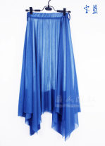 skirt Summer 2020 Average size longuette commute High waist Fairy Dress Solid color Type A 25-29 years old More than 95% other Other / other polyester fiber fold Korean version 101g / m ^ 2 (including) - 120g / m ^ 2 (including)