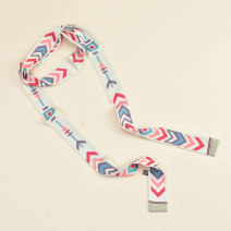 Belt / belt / chain other Green flower green bottom pony water ripple fish bone rectangle square - yellow female belt Versatile Single loop Children: 1-6 years old, young, middle-aged and old bow soft surface 4.0cm bow Cold weapon LBQ0276 Summer 2020