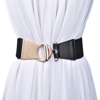 Belt / belt / chain top layer leather Brown red black female Waistband Versatile Single loop Youth, middle age and old age Pin buckle Round buckle soft surface 6.3cm alloy Tightness Cold weapon LBQ0127 Spring of 2019