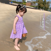 Dress Picture color female LSHUYU BABY 80, 90, 100, 110, 120, 130, 140 Other 100% summer Korean version Skirt / vest other cotton Lotus leaf edge D04-03 other 12 months, 6 months, 9 months, 2 years, 3 years, 4 years, 5 years, 6 years