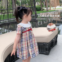 Dress Picture color female LSHUYU BABY 80, 90, 100, 110, 120, 130, 140 Other 100% summer Korean version Skirt / vest other cotton Lotus leaf edge other 12 months, 6 months, 9 months, 2 years, 3 years, 4 years, 5 years, 6 years