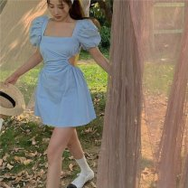 Outdoor casual clothes Tagkita / she and others female sixty-two point eight zero Light blue, 933, style custom deposit Under 50 yuan S,M,L other Summer 2021 Short sleeve routine