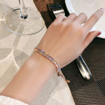 Bracelet Alloy / silver / gold RMB 20-24.99 brand new goods in stock Japan and South Korea female Fresh out of the oven Alloy inlaid artificial gem / semi gem other