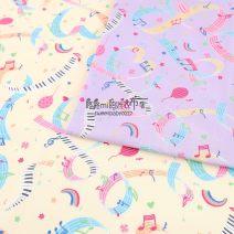 Fabric / fabric / handmade DIY fabric cotton A,B Loose shear piece Cartoon animation printing and dyeing clothing Japan and South Korea 100% Japan