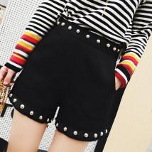 Casual pants black S M L XL 2XL Autumn of 2018 QSS006116