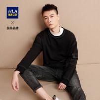 Sweater Fashion City HLA / Hailan home Black mosaic 66 black mosaic S6 165/84B/S 170/88B/M 175/92B/L 180/96B/XL 185/100B/XXL 190/104B/XXXL Socket other