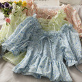 Lace / Chiffon Summer 2021 Yellow, blue, pink Average size Short sleeve Self cultivation have cash less than that is registered in the accounts 18-24 years old A281260 30% and below