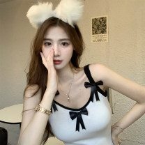 Wool knitwear Summer 2021 Average size Butterfly skirt singleton  Socket acrylic fibres More than 95% have cash less than that is registered in the accounts Thin money commute Self cultivation Solid color Socket Simplicity Other / other bow
