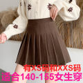 skirt Winter 2020 Xs, s, m, l, XL, XXS for height 145-155 Khaki, dark grey, black Short skirt Versatile High waist Pleated skirt Solid color Type A 18-24 years old More than 95% other Zhenyaluo other fold