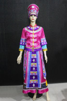 National costume / stage costume Spring 2017 rose red