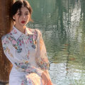 Women's large Summer 2021 S M L XL 2XL 3XL Dress commute Korean version Little IDA's flower 18-24 years old Other 100% Pure e-commerce (online only)