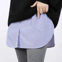 skirt Winter 2020 One size plus Blue white stripe blue white stripe pointed collar collar + hem blue white stripe round collar collar + hem Short skirt Versatile Natural waist A-line skirt stripe Type A 25-29 years old NJL010M 51% (inclusive) - 70% (inclusive) other New FENa / newfiona