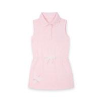 Dress Light pink female E·LAND KIDS 110cm,120cm,130cm,140cm,150cm,155cm Cotton 100% summer motion Skirt / vest Solid color cotton A-line skirt Class B Chinese Mainland