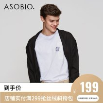 Jacket Asobio / pride Fashion City Black / 999 170/88A/S 175/92A/M 180/96A/L 185/100A/XL thin standard Other leisure summer Lyocell 100% Long sleeves Wear out tide routine Straight hem Loose cuff Solid color Summer of 2018 Same model in shopping mall (sold online and offline)