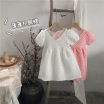 Dress White, pink female Other / other 90cm, 100cm, 110cm, 120cm, 130cm, 140cm, collect and purchase first Other 100% summer Korean version Short sleeve Solid color other Fluffy skirt other Seven, three, six, two, five, four Chinese Mainland Zhejiang Province Wenzhou City
