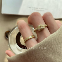 Ring / ring Alloy / silver / gold 10-19.99 yuan Other / other brand new goods in stock Japan and South Korea female Fresh out of the oven Not inlaid other