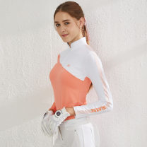 Golf apparel Black light orange S M L XL XXL female Callaway / Callaway Long sleeve T-shirt Spring 2020 yes