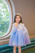 Dress Pink Aisha gradually thickened d28233, blue Aisha gradually thickened d28233 female Other / other The recommended height is 105cm for Size 110, 110-115cm for Size 120, 120-125cm for Size 130, 127-133cm for size 140 and 135-140cm for size 150 Cotton 80% polyester 20% spring and autumn princess