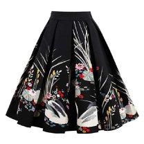 skirt Spring 2020 S (waist 68cm, suitable for 95 - 105 kg) , M (waist 72cm, suitable for 105 cm) - 115 Jin , L (waist 76cm, suitable for 115 cm) - 125 kg) , XL (waist 80cm, suitable for 128 cm) - 145 kg) , XXL (waist 84cm, suitable for 145 cm) - 155 kg) Mid length dress street High waist Fluffy skirt