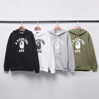 Sweater Youth fashion Others M,L,XL,2XL Solid color Cardigan routine Hood winter Straight cylinder leisure time teenagers routine polyester cotton cotton 70% (inclusive) - 79% (inclusive) zipper