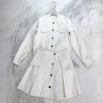 Cosplay women's wear jacket goods in stock Over 3 years old white game S,M,L