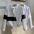 shirt Youth fashion Ekecel M L XL 2XL 3XL routine square neck Long sleeves easy Other leisure spring youth Cotton 67% polyamide fiber (nylon) 30% polyurethane elastic fiber (spandex) 3% tide 2021 Spring 2021