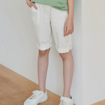 trousers Other / other female 9(110cm),11(120cm),13(130cm),15(140cm),17(150cm) White (scheduled for 7-15 days), black (scheduled for 7-15 days), yellow (scheduled for 7-15 days) summer Pant Korean version There are models in the real shooting Casual pants High waist Other 100% Class A RIKIDS.JR