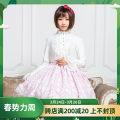 skirt Spring of 2019 XS,S,M,L,XL Pink Cross Short skirt Sweet High waist Pleated skirt Type A 18-24 years old BQ141 More than 95% polyester fiber Lolita